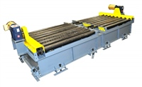 dual-lane-directional-change-conveyor-with-chain-transfer