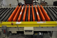 pallet-lift-on-chain-driven-live-roller-conveyor-system