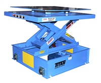 turntable-conveyor-on-lift-with-automatic-guided-control-base