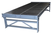 Dual Lane Gravity Conveyor Standard Supports