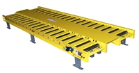 Gravity Conveyor Model 425 with Walkway Plates