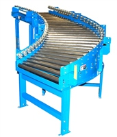 Gravity Conveyor with Skate Wheel Side Rails