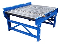 gravity roller conveyor with gravity skatewheel pop-up