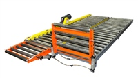gravity-conveyor-with-pneumatic-lift-gate