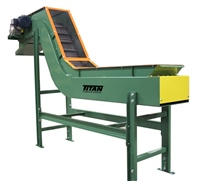 "custom-2-1/2""-pitch-hinged-steel-belt-conveyor-with-perforated-metal-top-cover"