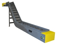 "4""-pitch-hinged-steel-belt-conveyor-3""-side-rails"