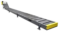 "4""-pitch-hinged-steel-belt-conveyor-extra-long-infeed"