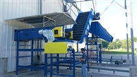 steel-belt-conveyor-with-adjustable-chute-for-recycling-industry