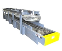 cooling-drying-conveyor-with-hinged-steel-belt-&-siderails