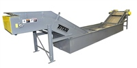 "2 1/2"" Pitch Hinged Steel Belt Quench Conveyor"