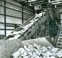 cleated-belt-solid-waste-conveyor-system