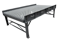 Ball Transfer Conveyor Table with Standard Supports