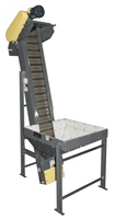 parts-conveyor-cleated-hinged-steel-belt-conveyor-protective-hopper-discharge-chute