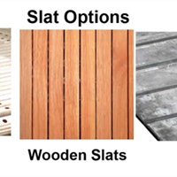 Slat Options Available