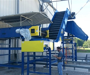 Metal Recycling Conveyor System