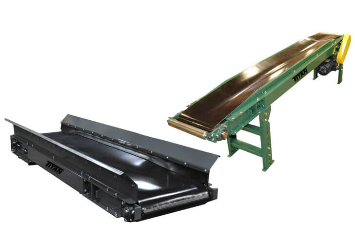 Model 114 Troughed Belt Conveyor