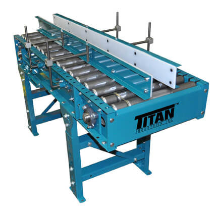 Model 402 Belt-Driven Live Roller Conveyor