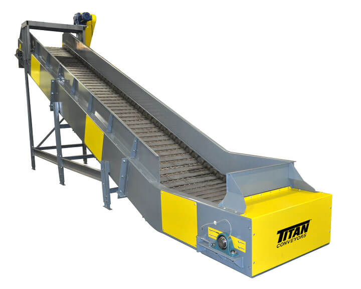 Model 660 Hinged Steel Belt Conveyor