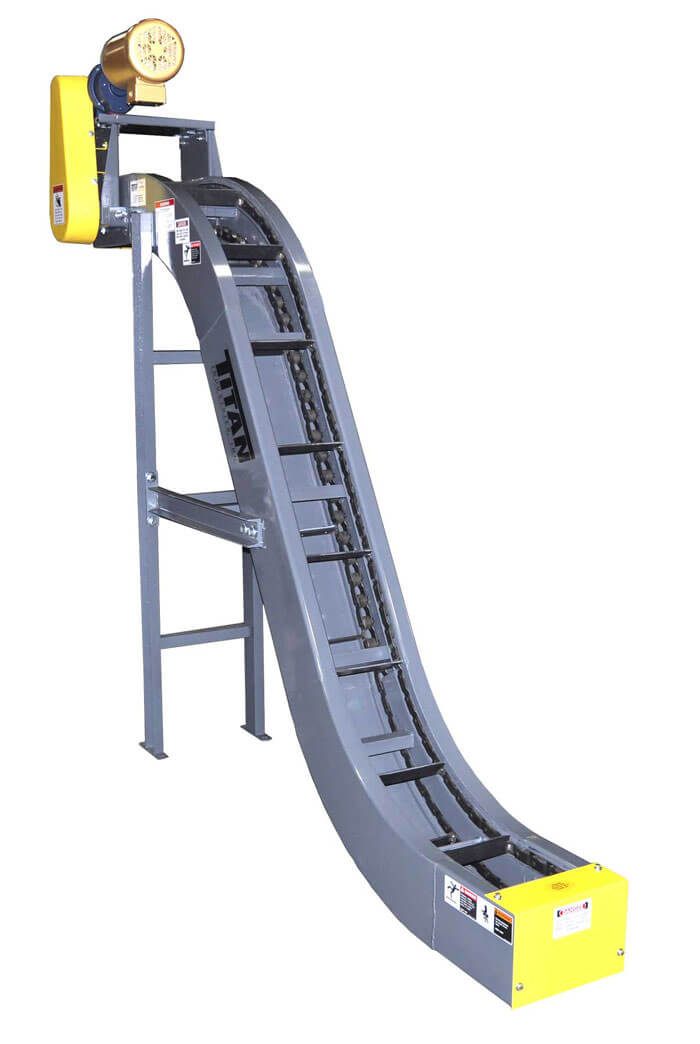 Model 670 Drag Flight Chain Conveyor