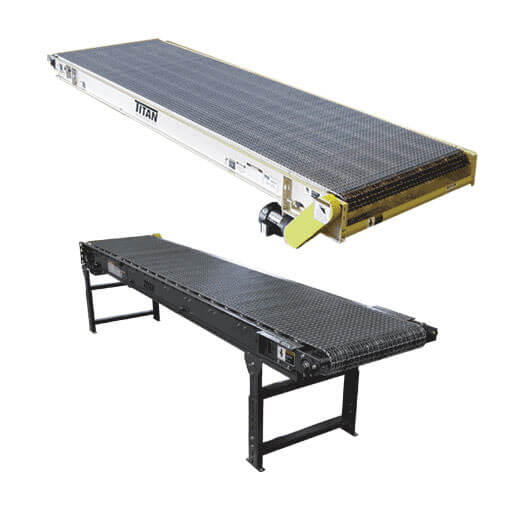 Model 124 Wire Mesh Belt Conveyor