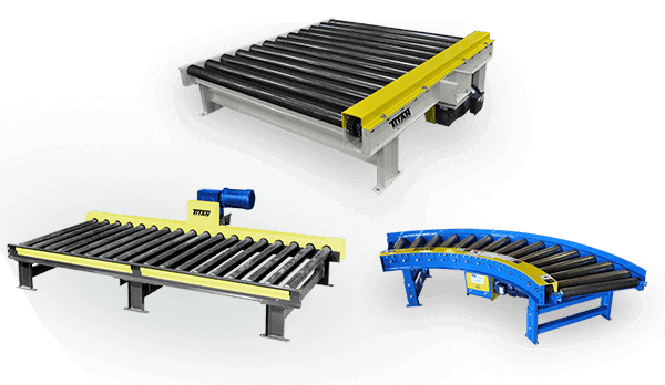 Chain Driven Live Roller Conveyors | Titan Conveyors