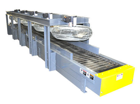 cooling-drying conveyor