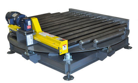 pallet conveyor for handling a variety of pallet types